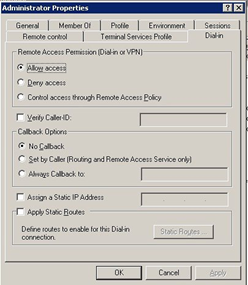 WHS VPN Access