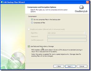CloudBerry RRS Improvements