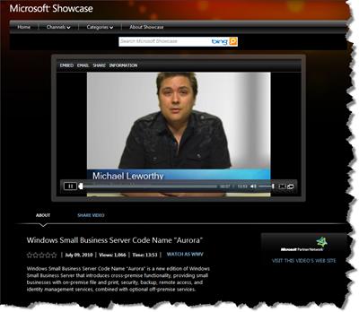 Microsoft Showcase - Aurora