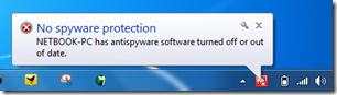 nospywareprotectionrednotification