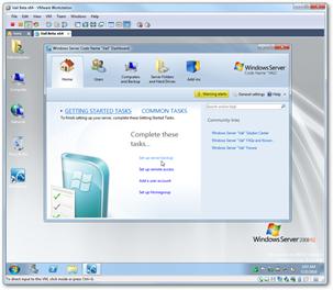 Vail in VMware Workstation