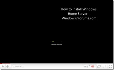 Windows7Forums How to Install WHS
